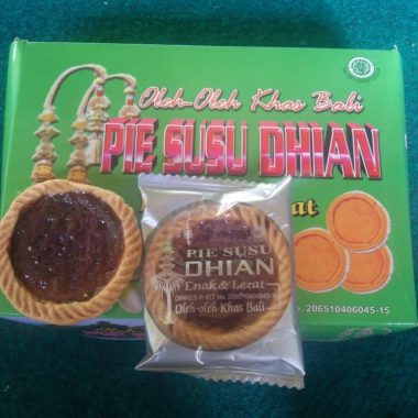pie susu dhian blueberry